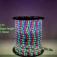 High quality non waterproof 12V 3528  LED Strip light flexible light  LED flashlight 60 leds/M ,1 meter
