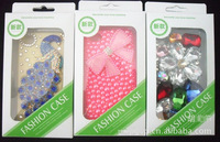 500 pcs Newest Packaging retail box for iphone 4/ 4S iphone 5 HTC and Saumsung