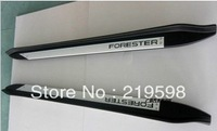 09 - 12 Subara Forester side step running boards forester side pedal Runing board 2 pcs/set aluminum alloy