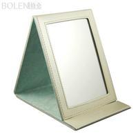 Querysystem bolen folding desktop mirror cosmetic small mirror office desk desktop mirror czd2100