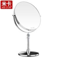 Mica makeup mirror desktop mirror double faced mirror 8 6 derlook gift female