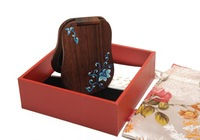 Sp gift box lacquer mirror - wood mirror makeup mirror portable mirror gift