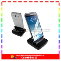 2013 Hot Portable Black Dock for Galaxy S4 S2 S3 Desktop