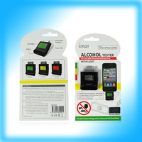 Free Shipping of IPEGA Backlight Alcohol Tester for iphone4