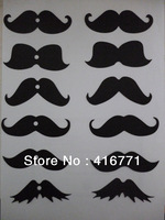 800pcs/lot Free Shipping Funny Fake Mustache/lips For Straw Decoration Accept Mix Order Based On Competitive Price&Super Quality