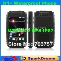 Hummer H1 H1+ Phone IP67 MTK6572 Android 4.2 GPS AGPS 1.0GHz 3.5 Inch Multitouch Screen Shockproof Waterproof Smart Phone