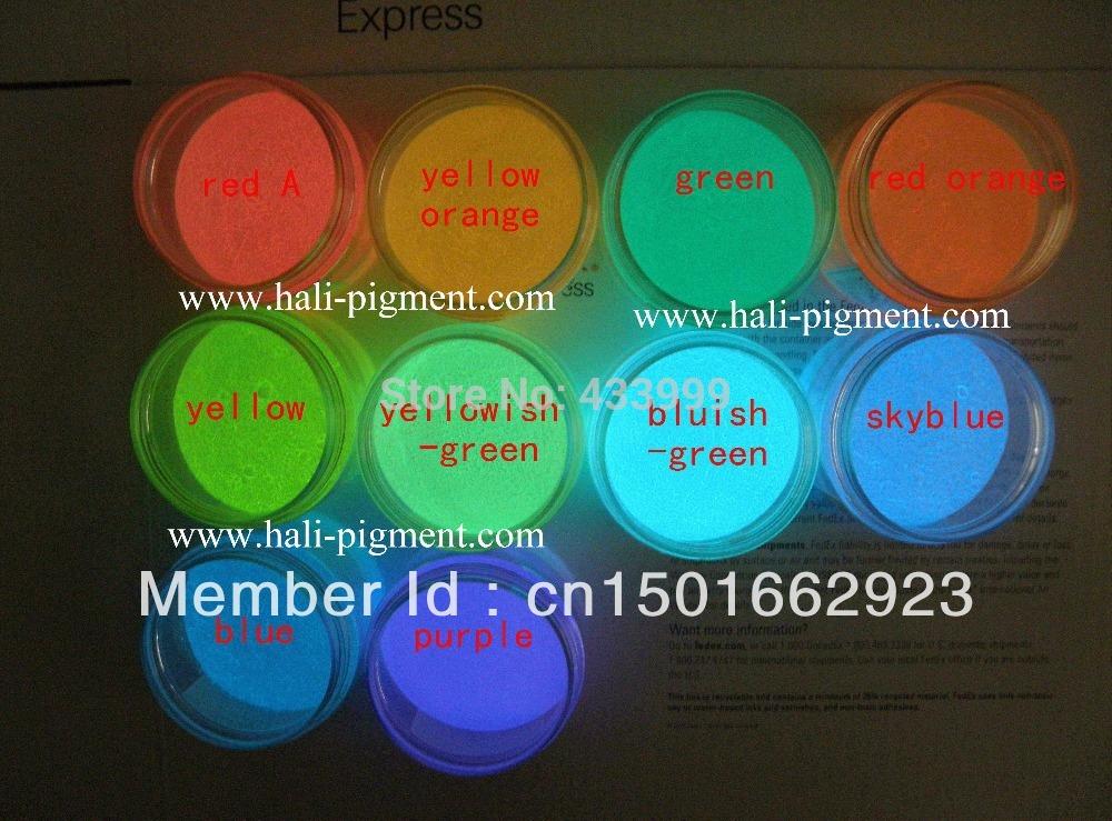 glow in dark powder, photoluminescent powder, luminescent powder(China (Mainland))