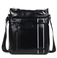 mens messenger bags Mens shoulder bag messenger bag men black alloy zipper boy bag for office man  3072-4