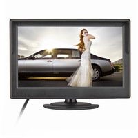 "SALE !!!  5"" Inch TFT LCD 4:3 Car Color Rear View Reverse Monitor Support DVD VCD Multiple languages"