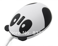 *Wired Cute 3D Panda Shape USB Optical Mouse Mice for PC/Laptop Notebook Desktop computer gaming 12189