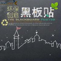 45*200 cm  Blackboard Removable Vinyl Wall Sticker for kids room Chalkboard Decal Nursey Kid Needing Gifts
