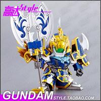 DECOO 325 SD BB Fighter Q version of the Three True Sangokuden Gundam Japanese cartoons military robot building War models