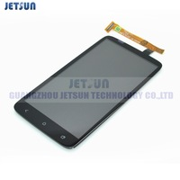 Replacement LCD Display + Digitizer Touch Screen Assembly For HTC One X LCD S720e G23 free shiping