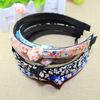 Free shipping wholesale  (4 pieces/lot)colorful  flower headband for kids flower hair accessories cheap price