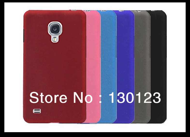 Gel Matte Back Case Cover For Samsung Galaxy S4 SIV i9500 Hard Shell Protector Mobile Phone