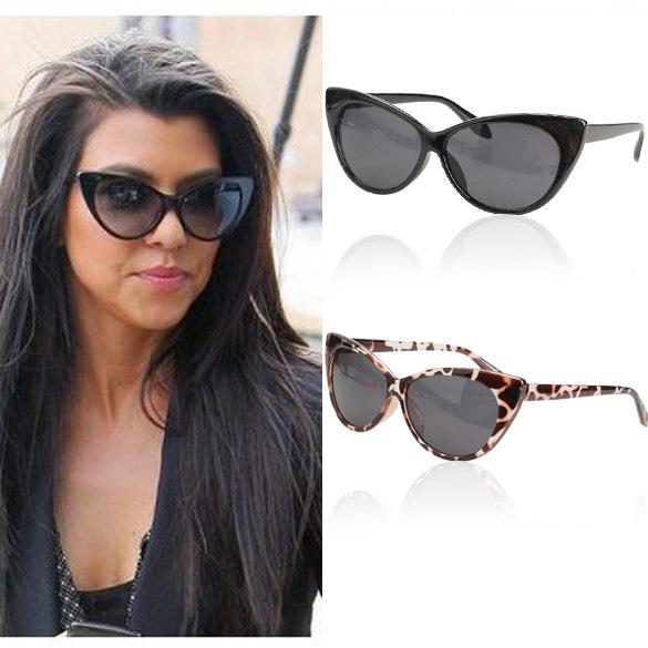 F9s Vintage Cat Eye Design Sunglasses UV400 Protective Shades Black Frame Free Shipping