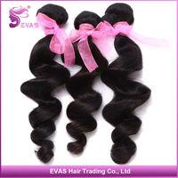 2 bundles per Lot Peruvian Loose Wave Hair 100% Virgin Unprocessed All Cuticle Aligned Easy to Dye