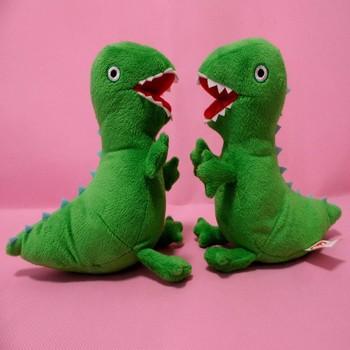 Peppa Pig & George Dinosaur porco dos desenhos animados caçoa de pelúcia plush brinquedos da criança frete grátis 22 centímetros