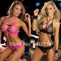 2013 Halter sexy lingerie sexy underwear set lace sexy nightclub dress S68901 essential Summer