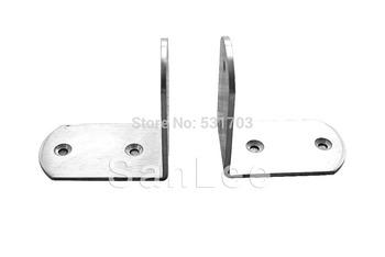 65X65MM Stainless Steel Bracket, Corner Bracket,Furniture Fittings, Angle Bracket, Shelf Bracket: Free Shipping