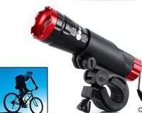 Focusing Bicycle LED Headlight Bike Front Light Glare Focusing Flashlight MTB Bike Accessories