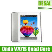 Promotion Onda V701s Quad core 7.0 inch Tablet PC A31S 1GHz Android 4.2 WIFI  8GB ROM 1024x600px