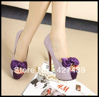 Fashion women shoes high heel peep toe platform lady bowknot pumps sexy model T stage shoes S06