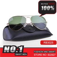 Rb3025 classic fashion large sunglasses gradient 3026 tea film sun glasses star sunglasses fashion model