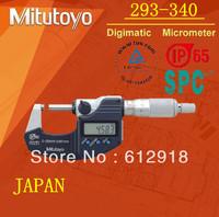top/Mitutoyo waterproof dust repellency Digital Outside Micrometer 293-340 240 341 0-25-50mm