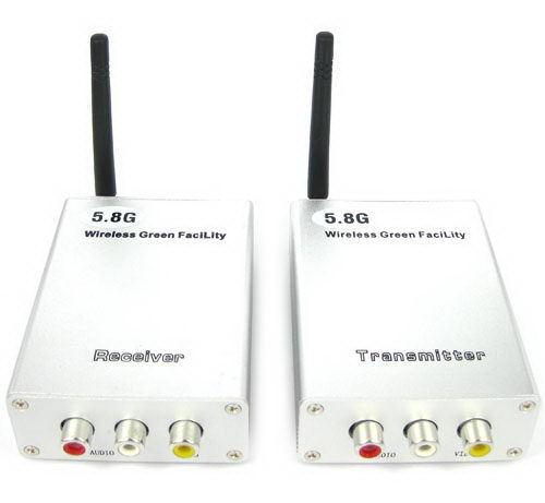 5.8G 4-Channel Wireless Transmission Kits with 80M Slant Distance