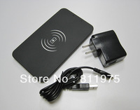 Free Shipping Ultra Slim Portable Qi Inductive Transmitter Pad Wireless Charger for Samsung Galaxy S4 i9500 S3 Nexus 4 Nokia 920
