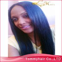 12 - 26 inch  AAAAA Brazilian human hair lace front  U part wig long straight,cheap U shaped  Wig 130% density