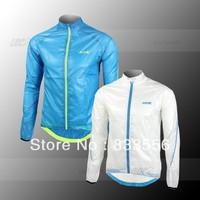 SANTIC Cycling Windproof  Waterproof UV-PROTECT Rain Coat Outdoor Sports Jacket Bike Wear Clothes Long Sleeve Jersey