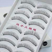 new 2014  makeup sex products necessaries cosmeticskoreanHandmade knitted false eyelashes cotton