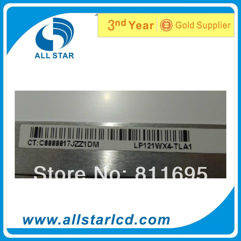 "Free Shipping 12.1"" LP121WX4 TLA1 LP121WX4 (TL)( A1) Laptop LCD Screen WXGA+ 1280*800(China (Mainland))"