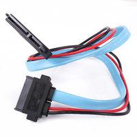 22-pin SATA female to 13-pin Slimline SATA female Connector cable