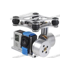 DJI Phantom Gopro 2 3 Metal Brushless Camera Gimbal w/Motors & Controller RTF