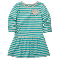 1pc Retail, Original Carters Girls Dress, 2colors Loving Heart Model Fashion Cotton Jersey Dress, Free Shipping IN STOCK