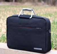 Fashion casual shoulder bag notebook bag metal handle M / Madam aluminum ring 14 inch laptop bags + Free shipping