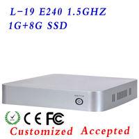 industrial computer,mini linux computers,mini htpc,Low power low heat,L19,low price!