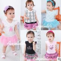Baby Girls dress romper kids sleeveless christmas tutu girls Romper wfj 1179681582
