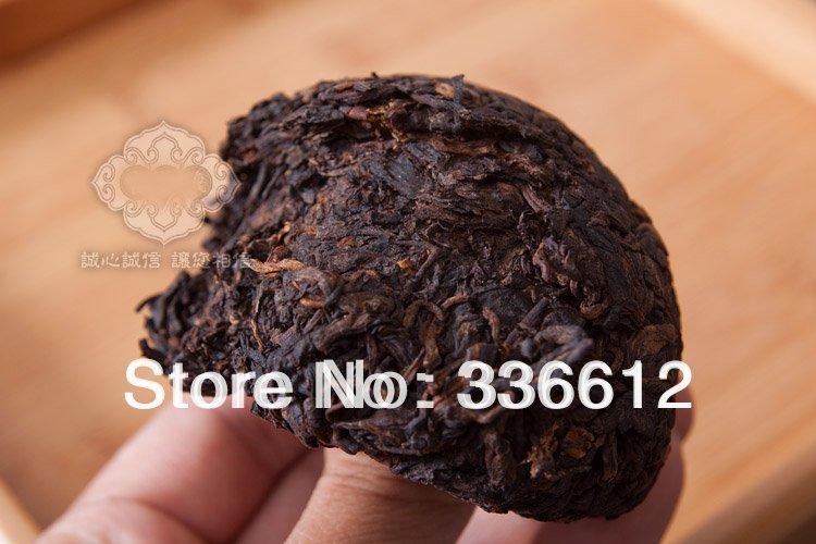 2002 Premium Yunnan puer tea Old Tea Tree Materials Pu erh 100g Ripe Tuocha Tea Secret