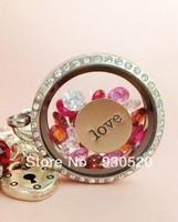 can mix color origami owl locket  glass locket pendantsglass locketfloat locket charms