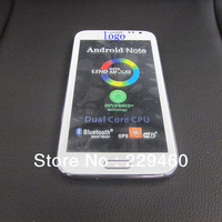 NEWEST!!! HK POST free shipping original 1:1 n7100 phone MTK6577 dual core note 2 android 4.1 5.5 inch mobile phone