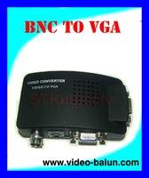 Free shippingCCTV BNC / AV to VGA Adapter Converter