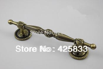 8pcs 64mm Bronze Modern Furniture Wardrobe Decorative Drawer Pulls Knobs Kitchen Door Bar Hardware Kids Cabinet Handle