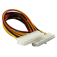 New 24 Pin to 24 Pin ATX Power Extension Cable