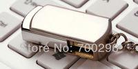 Free shipping metal shell Usb 2.0 flash drive 8GB 16GB 32GB 64GB