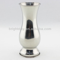 stainless steel flower vase tableware decorative vase