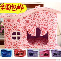 Folding Removable And Washable Belt Curtain Cotton  Cat Litter Nest  Pet Nest  House Dog Kennel GW0003
